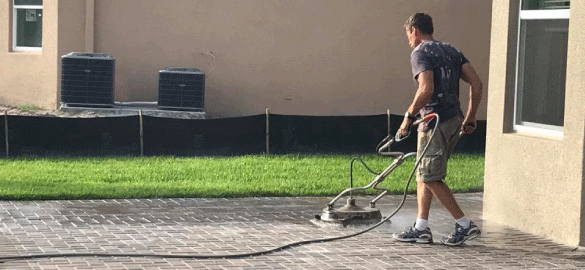 Power Blasting Patio